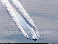 Jets, Contrails and Condensation Clouds: A new dance in the sky Illuminati, Boeing 747, Airbus A380, New World Order, Conspiracy Theories, Global Warming, Climate Change, Air Force, The Unit