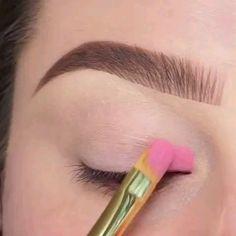 Beautiful Eye Makeup Tips Makeup Eye Looks, Eye Makeup Steps, Eye Makeup Art, Beautiful Eye Makeup, Cute Makeup, Glam Makeup, Pretty Makeup, Eyeshadow Makeup, Makeup Tips