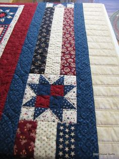valor quilt patterns | More red for the backing.
