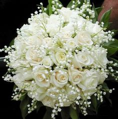 The most beautiful bridal bouquets - wedding bouquets - bridal bouquet .- The most beautiful bridal bouquets – wedding bouquets – bridal bouquet – bride … – # bride # bridal bouquet # bridal bouquets - White Wedding Bouquets, Bride Bouquets, Flower Bouquet Wedding, Rose Bouquet, Floral Bouquets, Floral Wedding, Bridesmaid Bouquets, Lily Of The Valley Bouquet, Valley Flowers