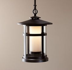 Exterior porch ceiling light