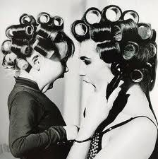 Do this for mother/daughter photo and hang in bathroom and do one of father/son shaving as well!