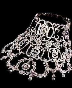One of the most expensive diamond jewelry in the world.