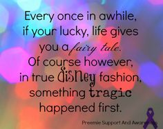 Not all NICU babies are preemie... but this is true for all.