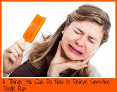 6 Tips on How to Deal with Sensitive Teeth plus *Giveaway* on http://www.5minutesformom.com