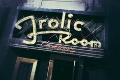 Frolic Room by yreese on Etsy, $40.00
