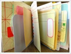 creating a journal from a variety of odd papers