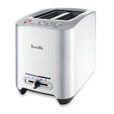 Breville® Die-Cast 2-slice Smart Toaster™ ~ $129.99 Bed Bath & Beyond