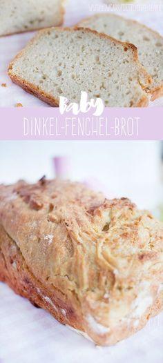 Dinkel-Fenchel-Brot für Babys ohne Salz und Zucker www.frauerfreut.de