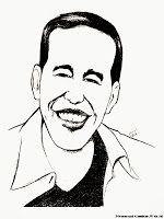 Gambar Kartun Hitam Putih Jokowi Untuk Mewarnai Mewarnai Gambar