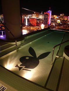 Playboy rooftop pool ;)