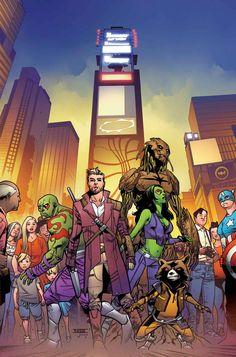 Guardians of the Galaxy #15 - Mahmud Asrar