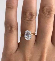 Knife Edge Platinum Basket Engagement Ring Setting | Adiamor