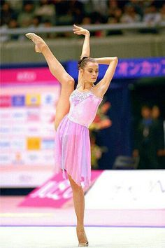 Yulia Barsukova (born 1978 in Moscow,Russia) is an individual Rhythmic gymnast.She is the 2000 Olympic Champion in the All-Around /Gala