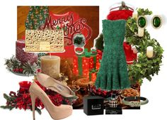 """""""Preparing for Christmas"""" by mari335 ❤ liked on Polyvore"""