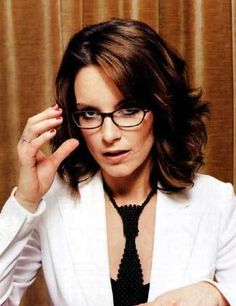 Tina Fey - She makes glasses a hot thing for guys....she makes girls who don't  wear glasses, want them...and the girls who do wear glasses are sad because they don't look as good in them as her.  She's a walking endorsement for the Optometrists of the world....and, oh yeah, she's FUNNY!  The fact that she can make everyone in the world, regardless of your political affiliation, laugh at Sarah Palin, that's amazing!