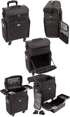 Travel Makeup Case. Great for makeup artist on the go.