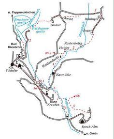 Bildergebnis für wolfsschlucht bad kreuzen Map, Cards, Maps