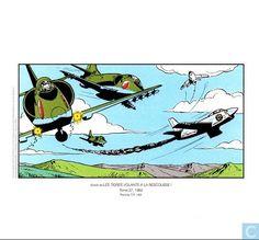 Ex-Libris BD et tirages - Ex-libris BD - Les Tigres Volants à la rescousse!