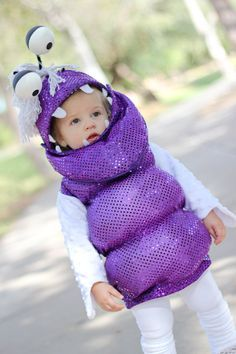 Boo Monster Costume, Monster's Inc., via Etsy. Possible Millie Halloween costume, for me to make