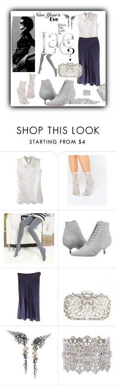 """""""New Years party 2017!"""" by iv-gromova ❤ liked on Polyvore featuring ASOS, Chloé, Vivienne Westwood, Jill Stuart, Natasha Couture, Alexis Bittar, Grace Lee Designs, Lucky Brand, look and party"""