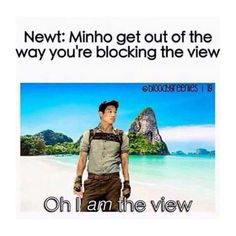 I am the view