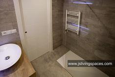 Baño con calefacción e iluminación led