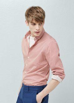 Camisas de Hombre | MANGO Man España