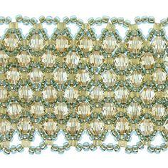 Free Beadweaving Tutorials netting stitch tutorials, geometric beadweaving, master the art of beadweaving, RAW bracelet, ladder stitch bracelet with lampwork Beading Patterns Free, Jewelry Patterns, Bracelet Patterns, Free Beading Tutorials, Bead Patterns, Free Pattern, Bead Jewellery, Beaded Jewelry, Beaded Bracelets