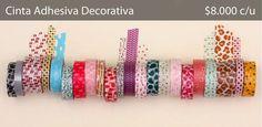 Cinta adhesiva decorativa :) — Faro de Luna