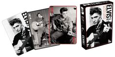 Music Forte - Elvis Presley Playing Cards, $5.99 (http://www.sheetmusicforte.com/title/elvis-presley-playing-cards-hl114572)  A must-have for Elvis fans!