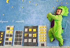 Inspire-se: Que tal fazer fotos do seu bebê em cenários divertidos?
