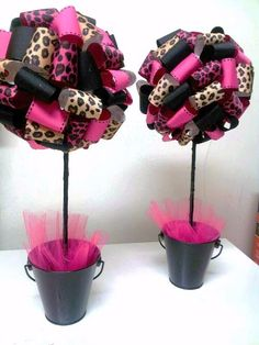 black and pink baby shower ideas - Google Search