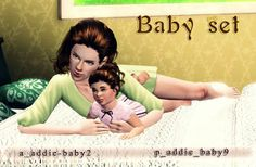Sims 3 Updates - Sims by Severinka: Baby set poses by Severinka!