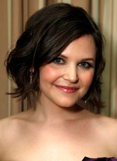 Ginnifer Goodwin, and cute hair - She's such a cute actress. Who knows what she's really like, but if she were like she is in her movies, I'd want to be friends with her. :)