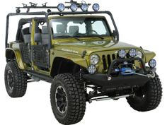 Body Armor 4x4 Roof Rack Base Kit For 07-14 Jeep® Wrangler Unlimited JK 4-Door Quadratec Part No: 12028.7000 Manufacturer Part No: JK-6124 $519