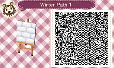 Animal Crossing New Leaf Winter Path - Imgur