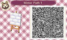 Animal Crossing New Leaf Winter Path - Imgur ACNLQR