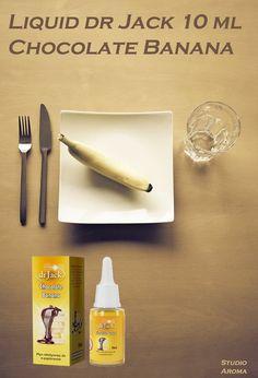 Jedno opakowanie = ok. 10 paczek zwykłych papierosów. STUDIO AROMA ---> http://studioaroma.com.pl/pl/p/Liquid-dr-Jack-10-ml-Chocolate-Banana-Light/402 ☼
