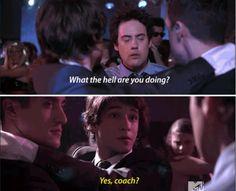 Brilliance and hilarity on Scott's part lol! Teen wolf season 1.
