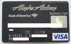 Alaska Airlines | VISA Business | Bank of America