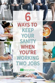 6 Ways to Keep Your Sanity When You're Working Two Jobs Best Money Saving Tips, Saving Money, Money Tips, Working Two Jobs, Job Help, Second Job, Work Stress, Make More Money, Extra Money