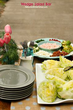 Wedge Salad Bar