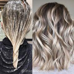 Blonde Ombre Hair, Balayage Hair Ash, Platinum Blonde Hair, Blonde Color, Ash Blonde Balayage Short, Blonde Shades, Caramel Hair, Easy Rider, Stylish Hair