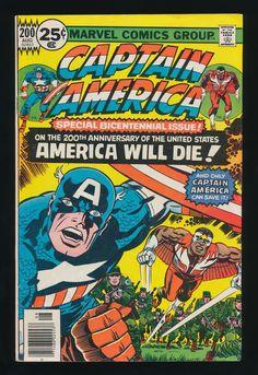 Captain America #200 (Aug. 1976)Special Bicentennial Issue!