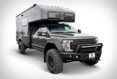 Earthroamer are global leaders in Xpedition Vehicles, their spectacular campers are in a class of their own and combine off-road and off-grid capabilities with with modern, home-like interiors. Their latest model is the mammoth EarthRoamer XV-LTS, bu Get Off The Grid, Advantages Of Solar Energy, Adventure Campers, Solar Panel Installation, Expedition Vehicle, Solar Energy System, Renewable Energy, Van Life, Cars