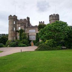 Malahide castle.  Ireland.