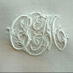 Monogram L C M