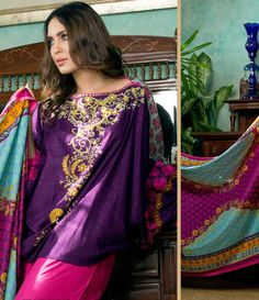 Monsoon Printed Cambric Suit collection By Al-Zohaib Textile AZ_9A
