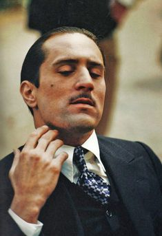 Robert De Niro as Vito Corleone, The Godfather: Part II